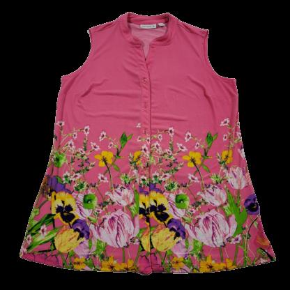 Susan Graver Floral Top (Size S)