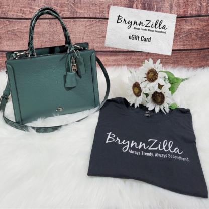 Take A Chance & Win it Bundle! Coach Zoe Carryall, BrynnZilla T-Shirt & $75 eGift Card