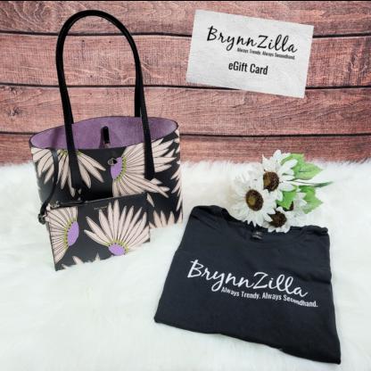 Take A Chance & Win it Bundle! Kate Spade Tote, BrynnZilla T-Shirt & $50 eGift Card