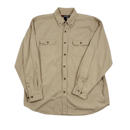 Reel Legends Performance Clothing Button Down Shirt (Size L)