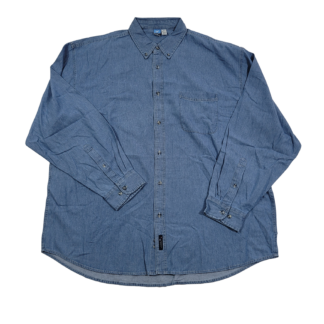 Port and Company Denim Shirt (Size 4XL)