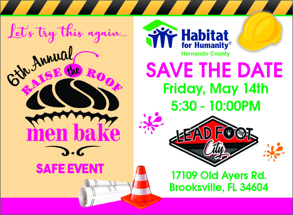 2021 Men's Bake Save the Date