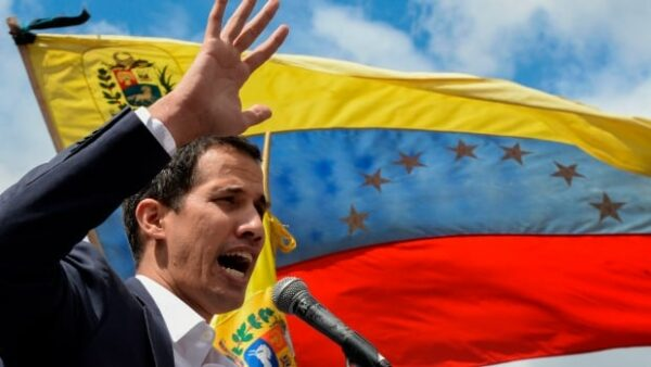 Recognized Interim President Juan Guaido returns the Venezuela to face off with the Maduro regime who still controls the government's military, if not the people.