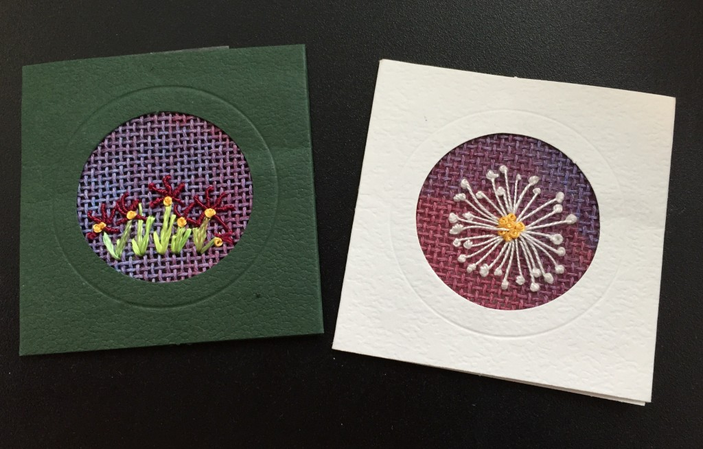 Embroidery on Canvas