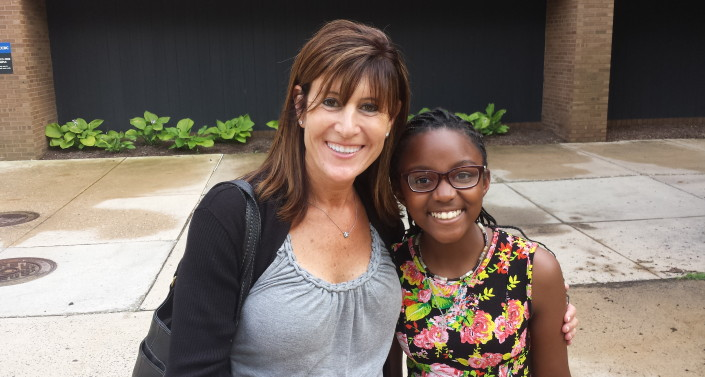 Tasha Museles, Executive Director and Grace Callwell - June 2015