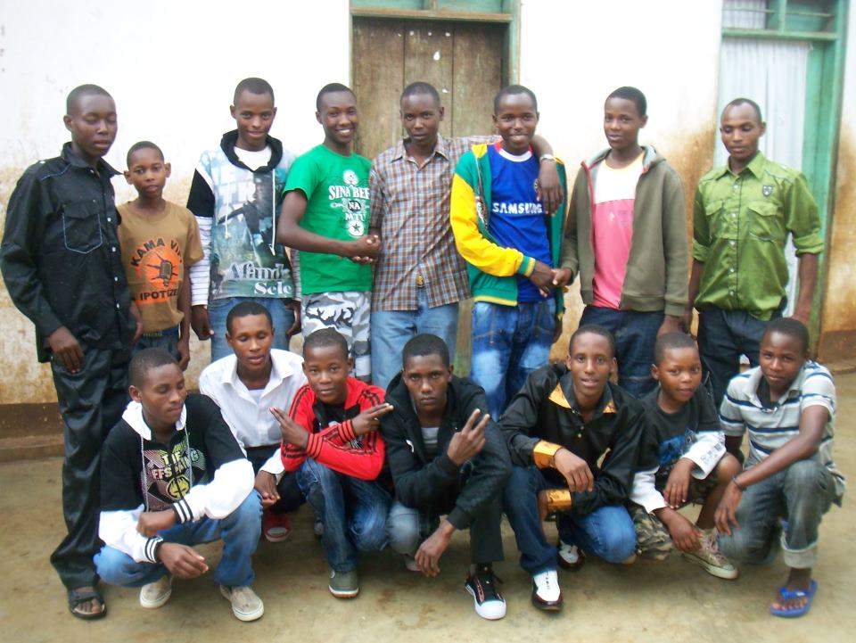 Our boys at MAHOCE sporting their new clothes. Thanks to all who supported our 2011 Clothing drive. It was a great success!!!