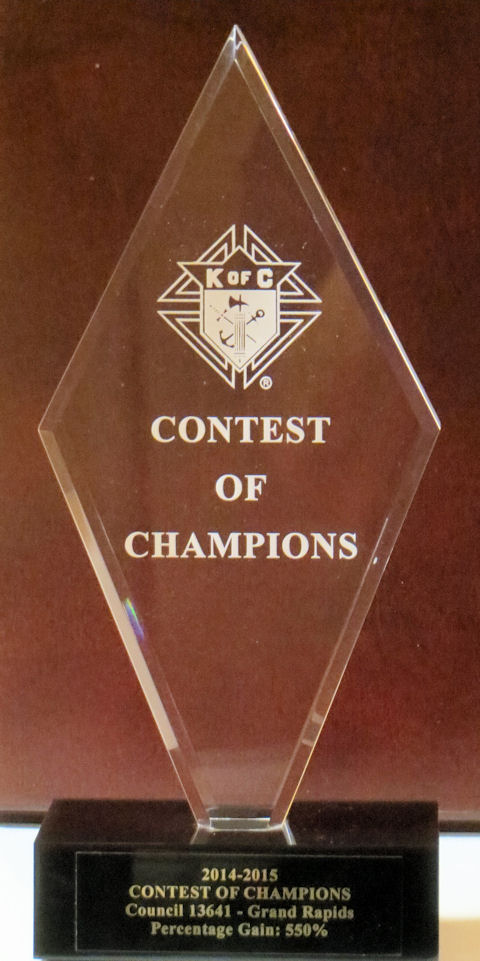 Council Receives Supreme Contest of Champions Award