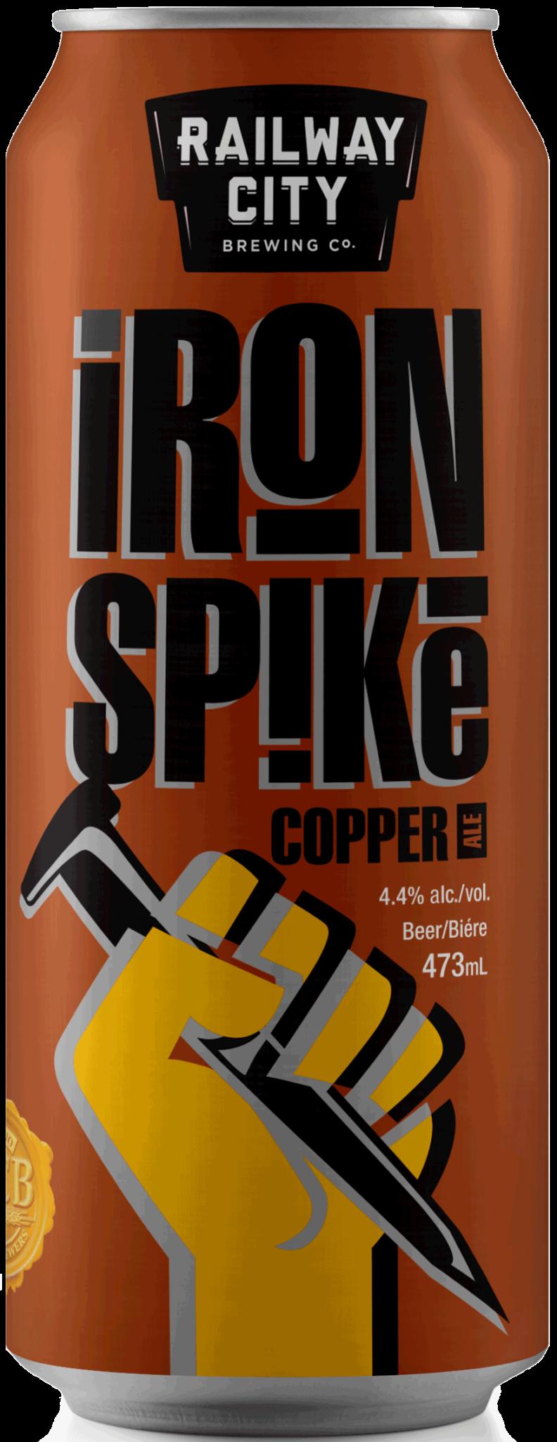Iron-Spike-Copper
