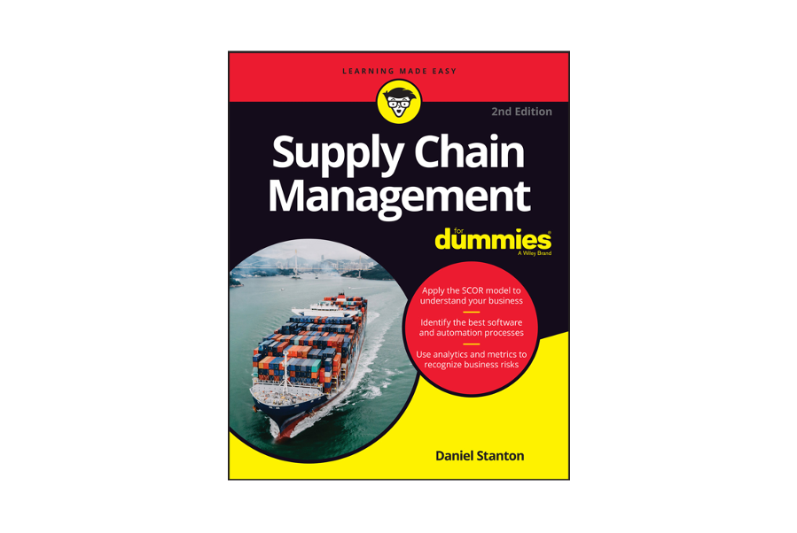 Supply Chain Management For Dummies (Book Cover)
