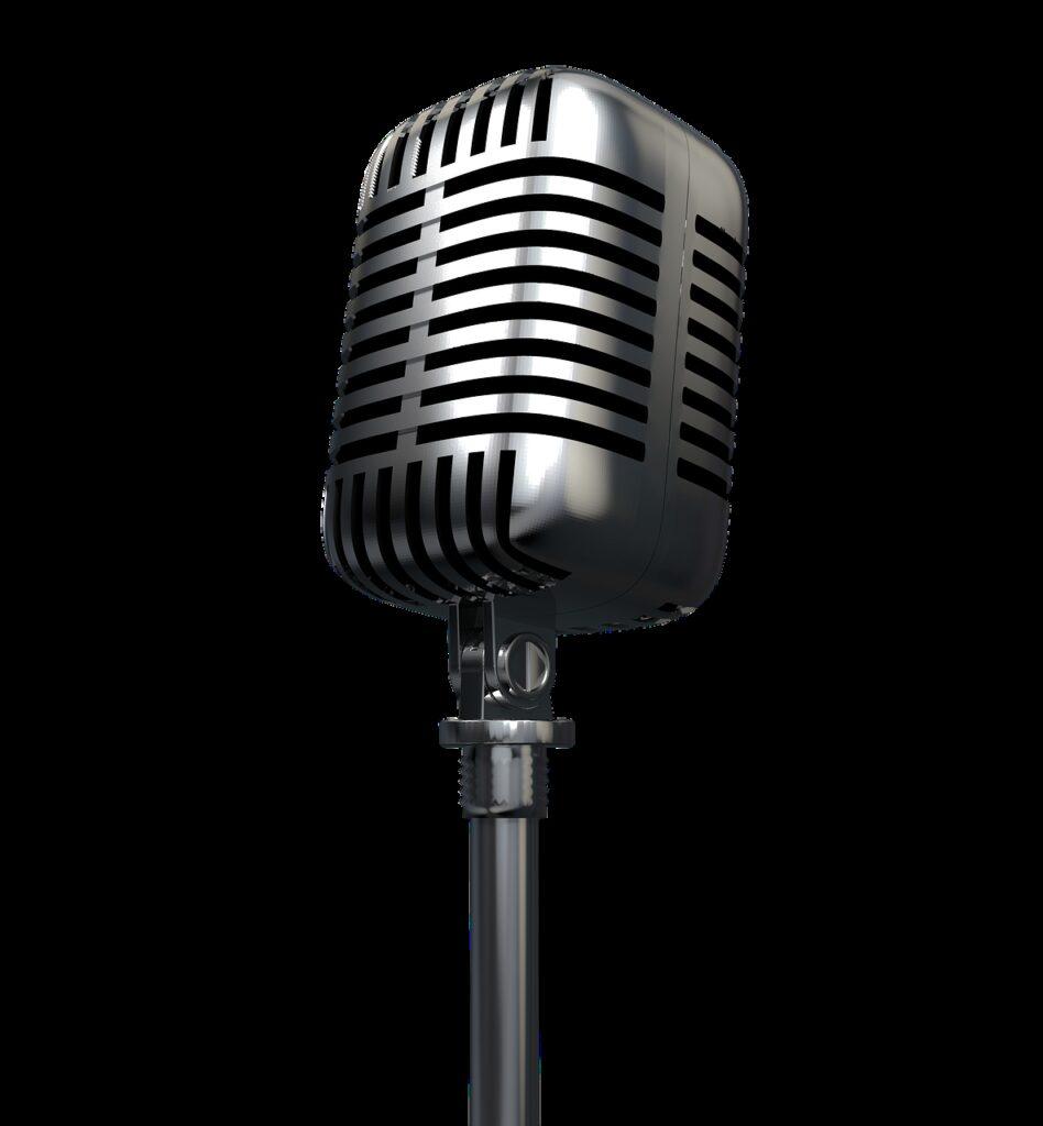 microphone, radio, audio