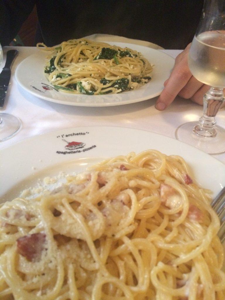 Donde Comer en Roma - L'Archetto