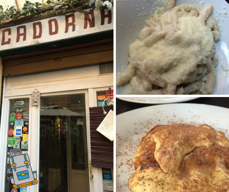 Donde Comer en Roma - Trattoria Cadorna