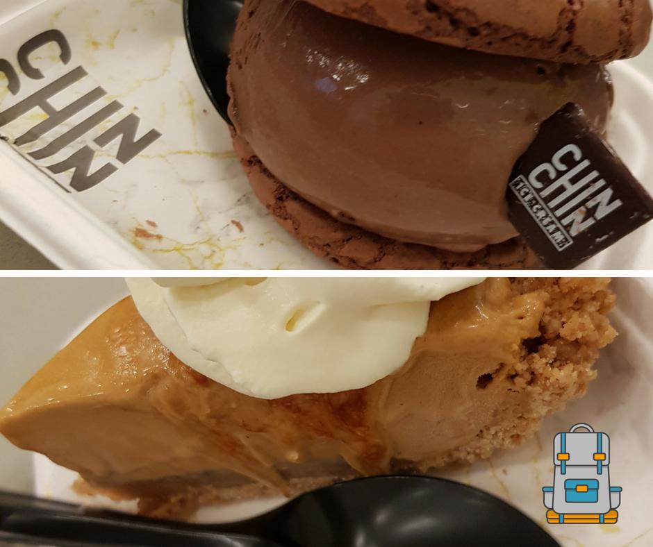Merienda de helados en Chin Chin Dessert Londres