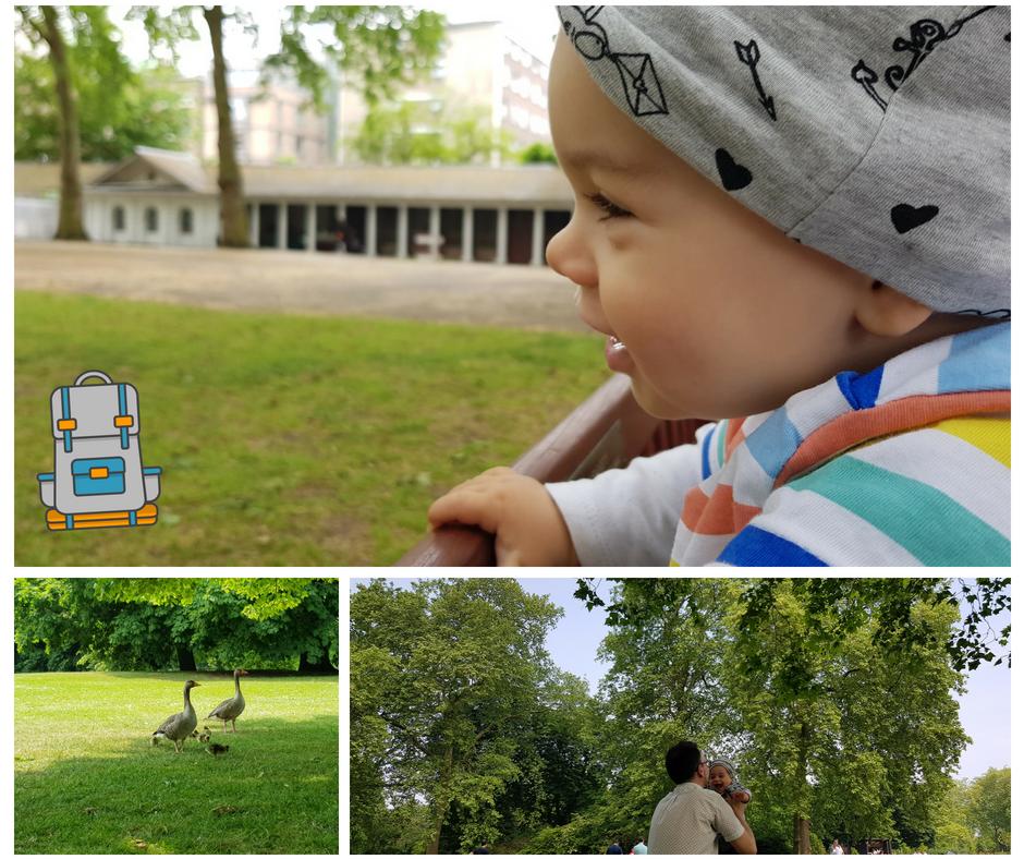 Londres con Bebé: Jugando en Coram Fields y HydePark