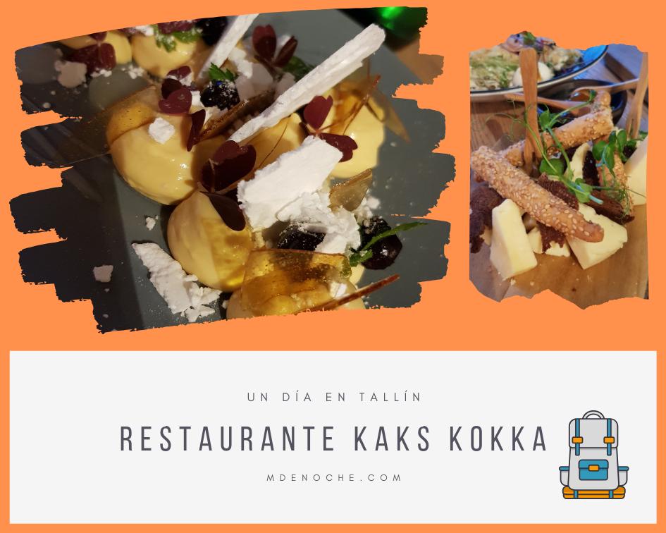 Tallin Un Día: Ideas sobre dónde comer en Tallín