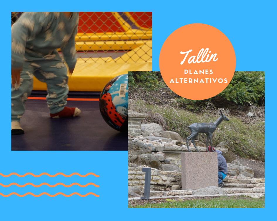 Tour por Tallin y parque de juegos, planes alternativos perfectos para el frío o con niños.