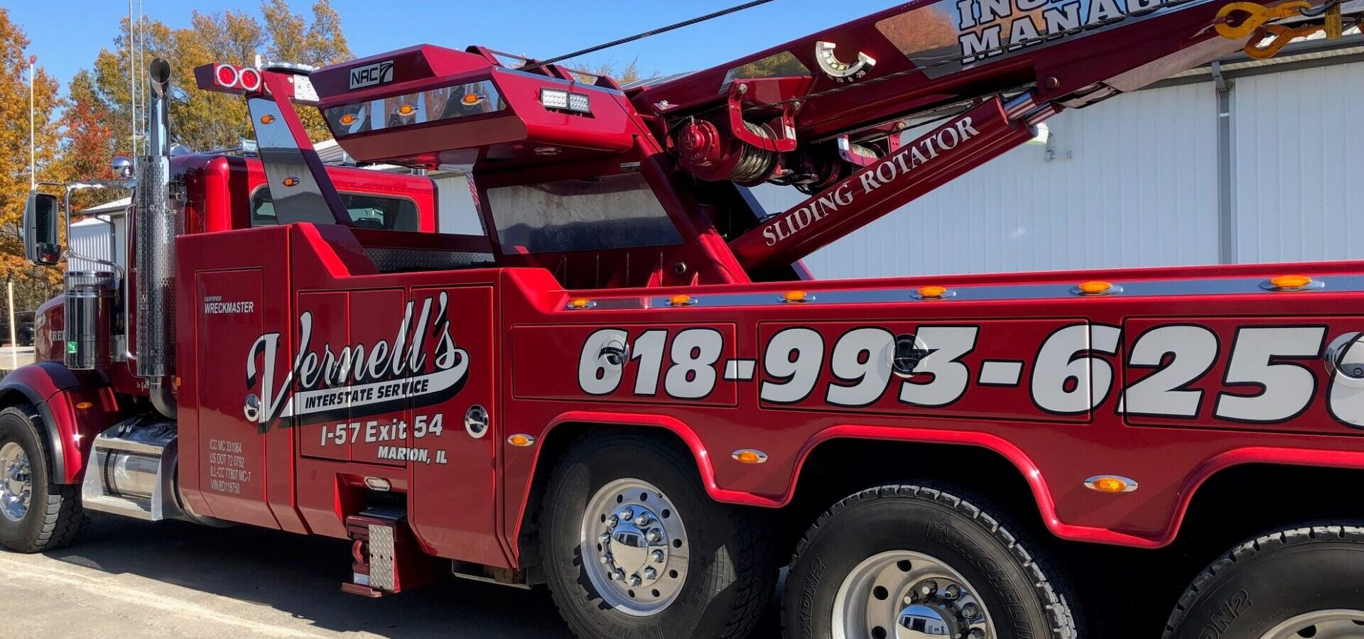 Vernell's Interstate Service heavy-duty wrecker