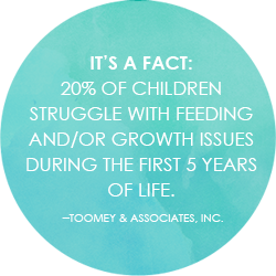 Children feeding and growth challenges