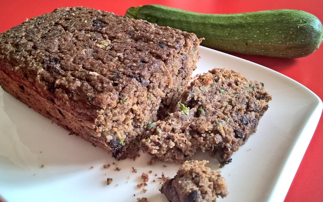 Zucchini Blueberry Bread (gluten-free)
