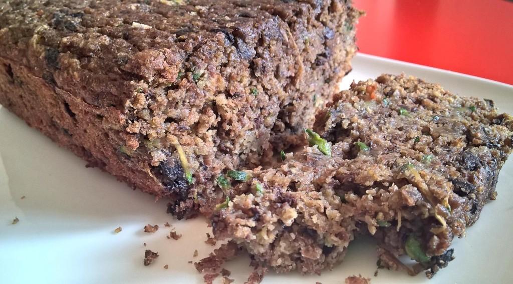 Zucchini blueberry bread3