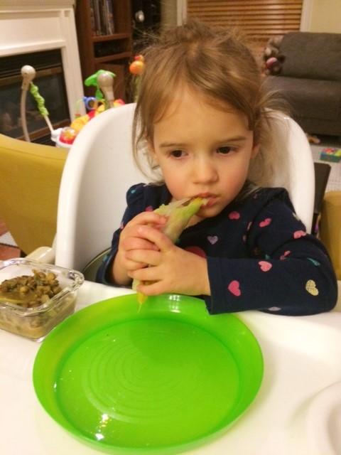 Feeding Tip:  Get little ones involved
