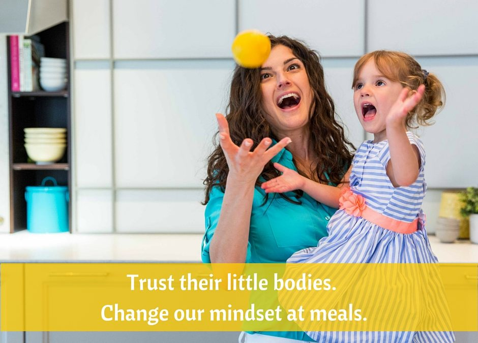Mindset at meals makes all the difference