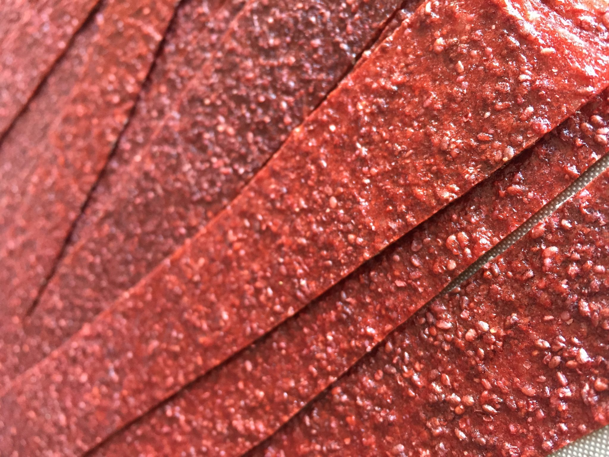 Dehydrated excalibur healthy fruit leather