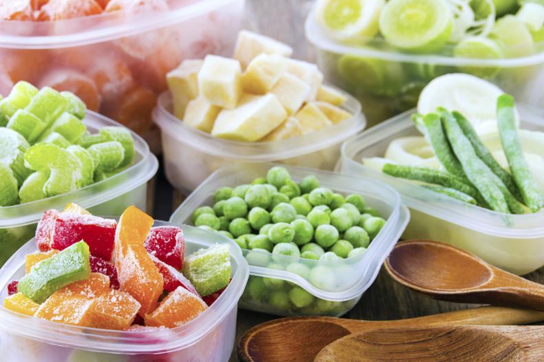 fresh or frozen veggies