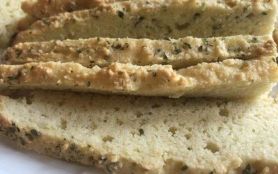 Easy 3 Ingredient Homemade Bread (paleo, gluten-free)