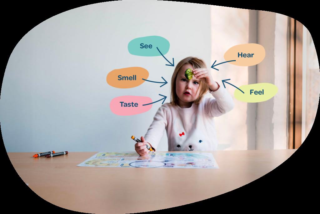 Sensory food activities for kids