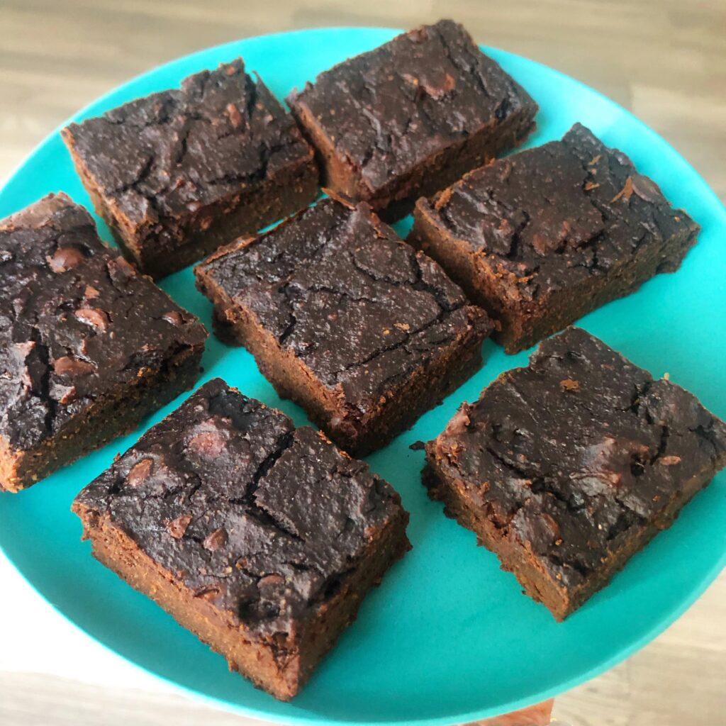 Healthy Gluten-Healthy Zucchini Brownies