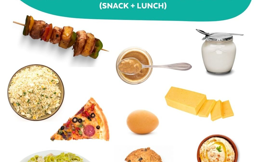 Proteins ideas for school lunch boxes