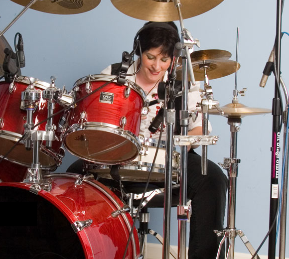 Drumset red like guitar center copy