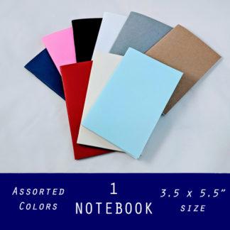 pocket size bulk notebooks assorted colors