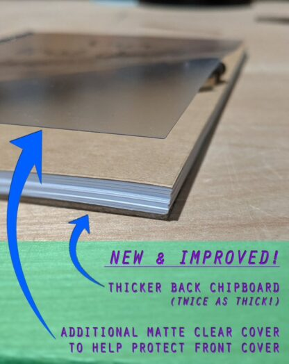 matte clear cover bulk notebook