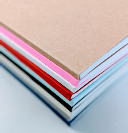 Perfect Bound Notebooks Sketchbooks Assorted Colors