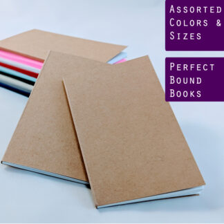perfect bound notebook sketchbooks journals