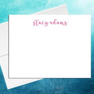 cursive note cards 4