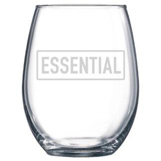 Essentoal Stemless Wine Glass