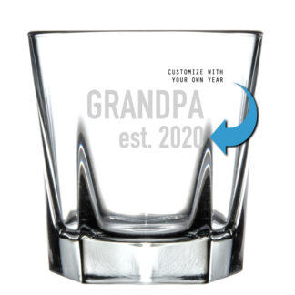 grandpa established rocks glass