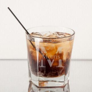 Monogram Rocks Whiskey Glass