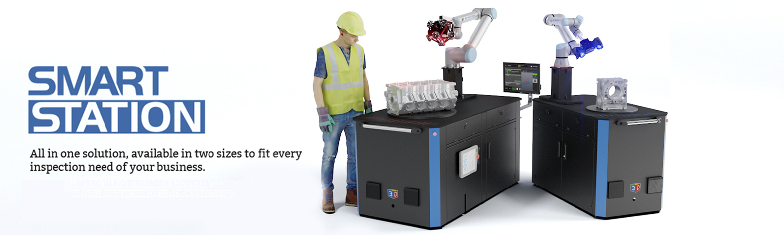 Automated Inspection - Universal Metrology Automation banner
