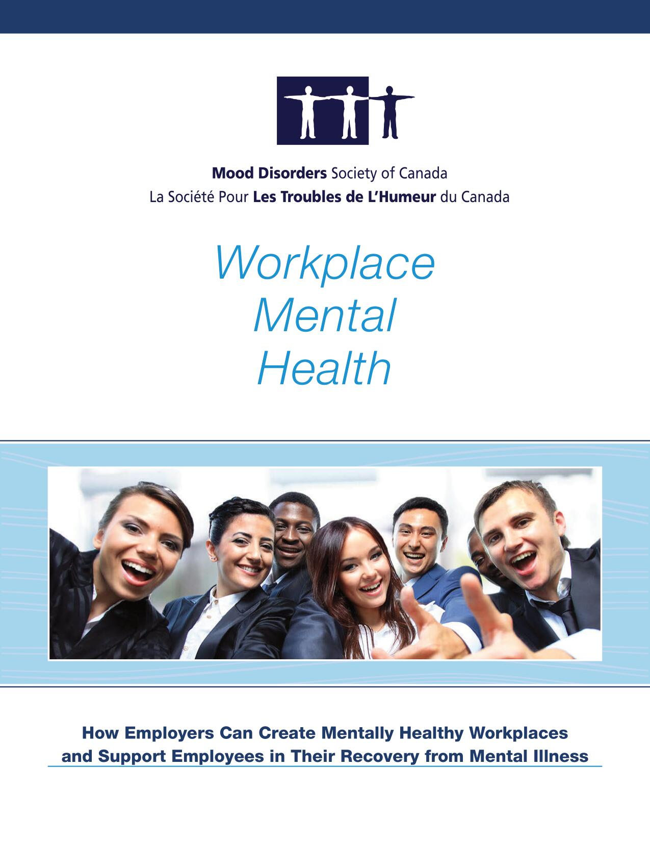 mental health in the workplace booklet
