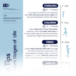 life sleep stages infographic