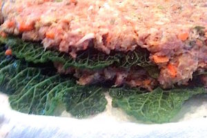 Building the stuffed cabbage dome | urbnspice.com