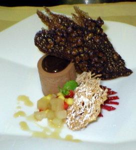 Chocolate Mousse Dessert   urbnspice.com