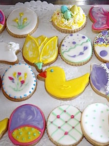 Easter Cookie Fun   urbnspice.com