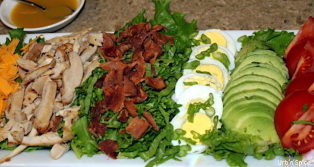 Cobb Salad and Red Wine Vinaigrette | urbnspice.com