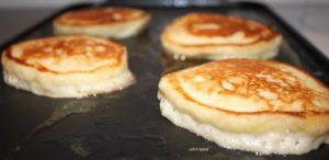 Yogurt Pancakes   urbnspice.com