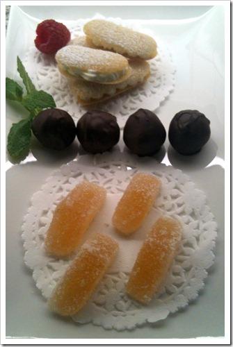 Crumb Truffles as part of a Mignardise plate | urbnspice.com